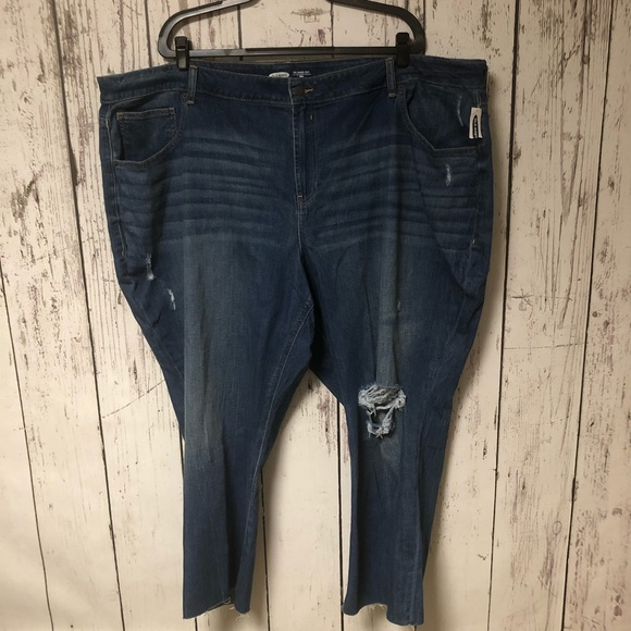 Old Navy Denim - NWT Old Navy Distressed Jeans Straight Ankle 30